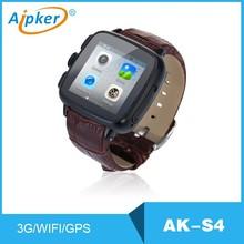 AIPKER WIFI 3g GPS mobile watch phone