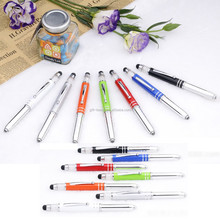 promtion metal with crystal touch pen