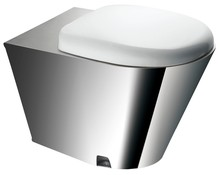 Bathroom stainless steel prison wc toilet bowl(JN49111)