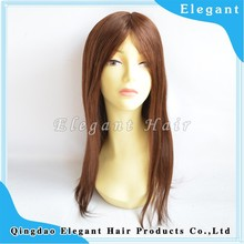 high quality swiss lace with silk top in front malaysian virgin hair sew full lace wig