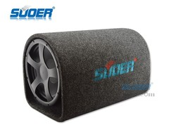 Suoer Good Quality 10 Inch Subwoofer 12V Woolen Subwoofer In Tunel Type