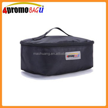 Travel hanging zipper toiletry bag