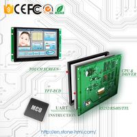 """6"""" LCD touch screen module with RS232 RS485 TTL MCU port for controller panel"""