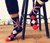 flat and argyle pattern custom wholesale cheap man socks