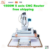China price wholesale free shipping 5 axis cnc engraving machine 3040 with High-Precision Ball Screw