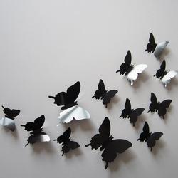 12pcs per set 3 d butterfly wall stickers