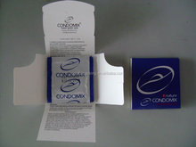 Custom Box for Own Brand Condom Packaging Boxes