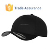 Custom Design Flexfit Baseball Hat Black Baseball Hat From China
