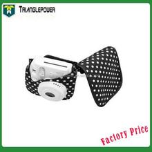 Fujifilm Instax Camera Bag, Polaroid Mini8 Cloth Camera Bag Mini 8 Camera Case White Dot (Black)