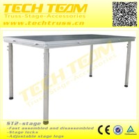 Adjustable Stage Max.load 750kg/m2 Aluminum Outdoor Stage Event Stage Decorative