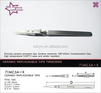 71MZ.SA-X hot optical 90mm steel tweezer