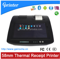 thermal receipt printer with touch screen
