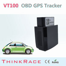 Googel Map Accurate GPS OBD Locator VT100 For fire engine by Thinkrace OBD2 vehicle gps tracker