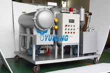 China DYJC series online coalescing and vacuum turbine oil cleaning system special design for oil below 2% water content