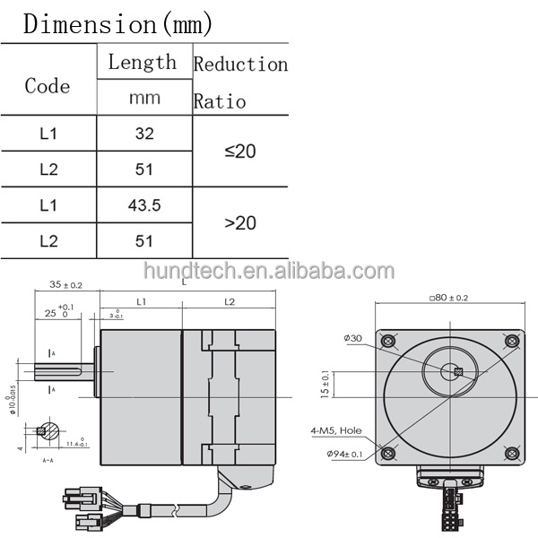 Dc Electric Motor 48v 300w 24v 48v 18w 300w 3000rpm
