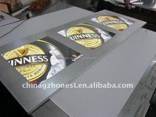 LED Slim light box, wall mounted led slim advertising light box