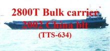 TTS-634:2800T general cargo ship for sale