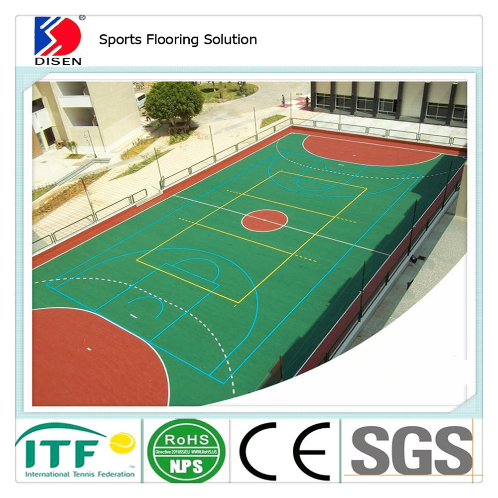 Indoor futsal court flooring pvc futsal flooring rubber for Indoor basketball flooring prices