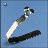 Custom 304 stainless steel spring clips