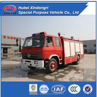 Dongfeng size of fire truck for 6000l