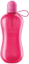 magenta sport carbon filter water bottle