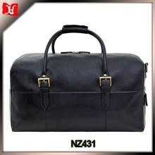 Leather Cabin Travel Duffle Weekend Bag gmy bags men travel bag for holiday Leder Reisetasche
