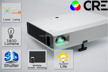 3LCD LASER 50000 hours 720p HD mini portable projector media player/laser dlp projector for iphone/China made pocket projector