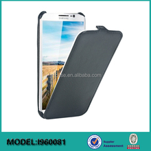 Heat pressing leather phone flip case for Samsung Galaxy S5 phone case