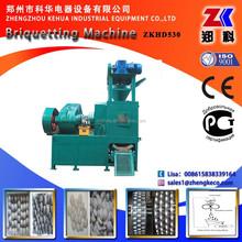 Hydraulic lime briquette machine
