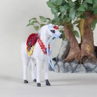 Customized hot selling solar horse plush toy