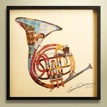 Hand Interior Decoration Impressionist Landscape Musical Instruments Oil Painting
