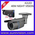 De larga distancia de la cámara de vigilancia/fina cámara de circuito cerrado de televisión