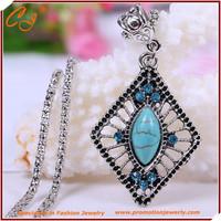 Royal Design Luxurious Fashion Turkish Bijuterias Jewellery Sets Coral Women Necklace Brincos Jewelry Set Turquoise Jewelry