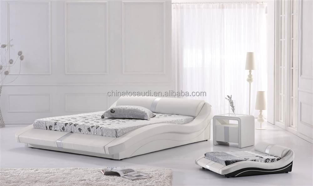 Koop laag geprijsde dutch set partijen groothandel dutch galerij afbeelding setop witte bed - Wit lederen bed ...