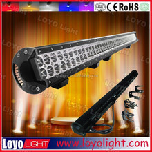 long size 43inch 50inch dual row 240W 288W LED offroad light bar great white led driving lights