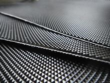 1.7mm Diamond pvc conveyor belt for treadmill walking belt