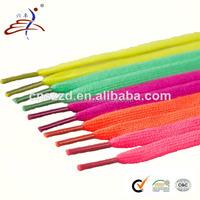 Colored Cheap Cotton Shoelace