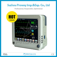 Hot Seller CE Approved PPM-ZN2 Multi Parameter Cheap Portable Patient Monitor with LCD Touch Screen
