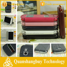 Hot sale view window PU leather flip case for Samsung Galaxy Trend Duos S7562 S7582