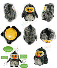 2014 new cheap pet toys for kids,cute OWL design,multi languages supported