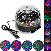 Best Promotion 20W DMX512 Disco Stage Lighting Digital LED RGB Crystal Magic Ball Effect Light