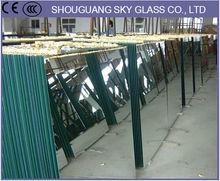1.8mm Aluminum Mirror Sheet, Float Glass Aluminum Mirroring, 1mm 6mm Aluminum Mirror Factory