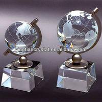 Engraving crystal balls, crystal sphere, crystal globe
