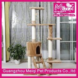 Multi functional cat training sisal cat tree condo luxury cat house