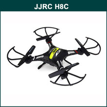 Wholesale JJRC H8C 2.4G 4CH 6-axis Drone RC helicopter with 2MP Camera RTF