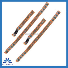 Handmade gift for new year cloth wristbands promotional gift