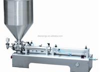 Factory direct semi automatic tomato paste glass jar filling machine