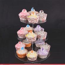 Best price of acrylic cake display shelf, cake display rack