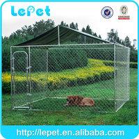 Backyard garden cheap chain link box dog kennel/dog run