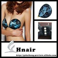 Silicon underwear sexy adhesive lace bra